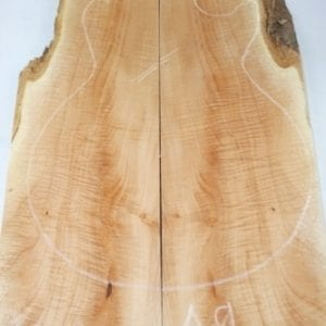 A9- Curly Sycamore - 20 mm - Exotic Hardwoods UK LTD