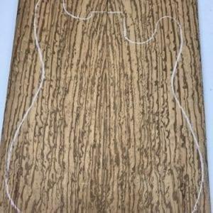 Birds Eye Zebrano BEXE 1 -(5mm Sanded) - Exotic Hardwoods UK LTD
