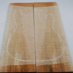 Birds eye maple top 10 mm -Exotic Hardwoods UK LTD