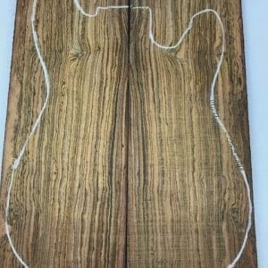 Bocote - BOCO 1 - 10 mm - Exotic Hardwoods UK LTD
